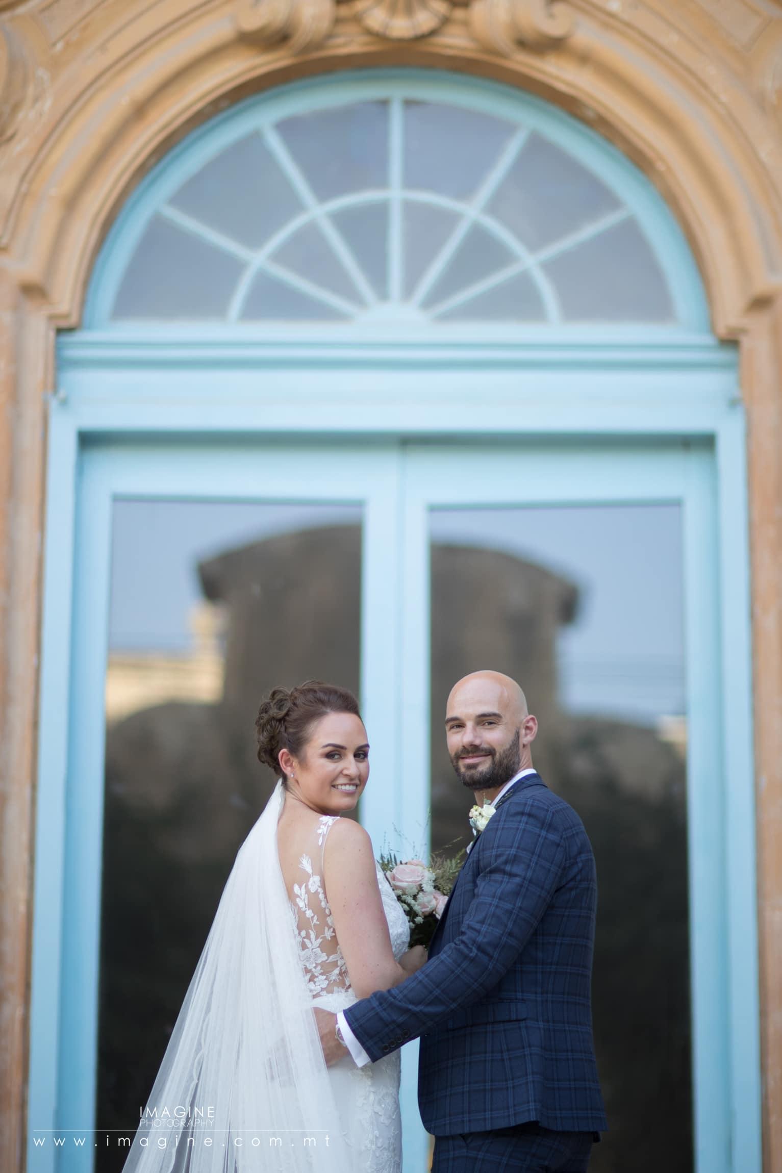 Classic wedding style in Malta